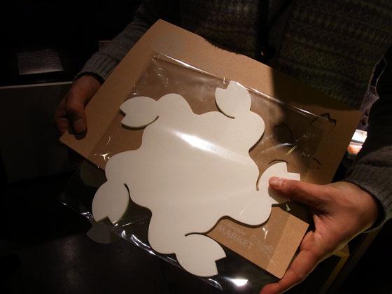 和モダン照明「コハルライト」を構成する和紙